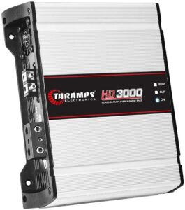 Taramp's HD 3000 1 Ohm Class D Full-Range Mono Amplifier
