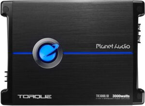 Planet Audio TR3000.1D Class D Car Amplifier 3000 Watts,