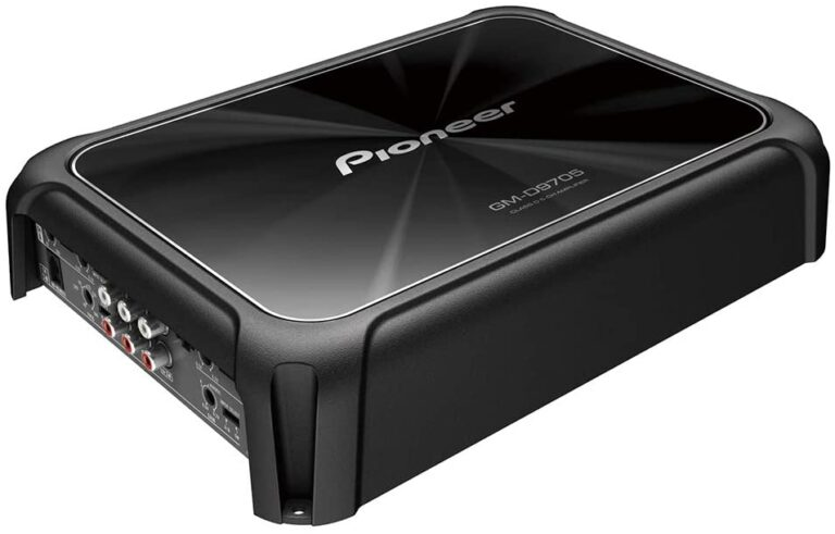 Pioneer GM-D9705 Class-D 5 channel amp for car