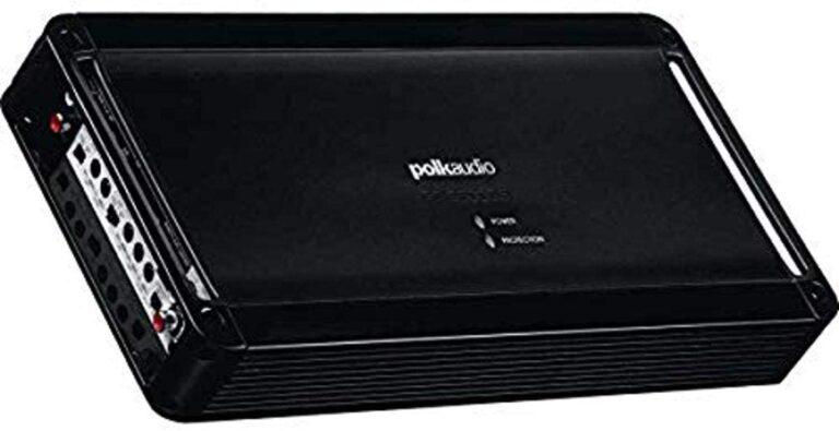 Polk Audio PA D5000 5 channel amplifier car audio