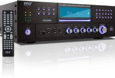 Pyle 4 Channel Wireless Bluetooth Amplifier