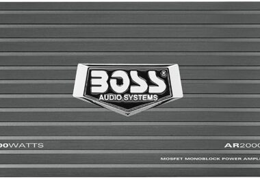 1.BOSS Audio Systems AR2000M Monoblock Car Amplifier