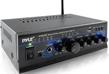 Pyle PTAU45 2 Channel Amplifier With Subwoofer