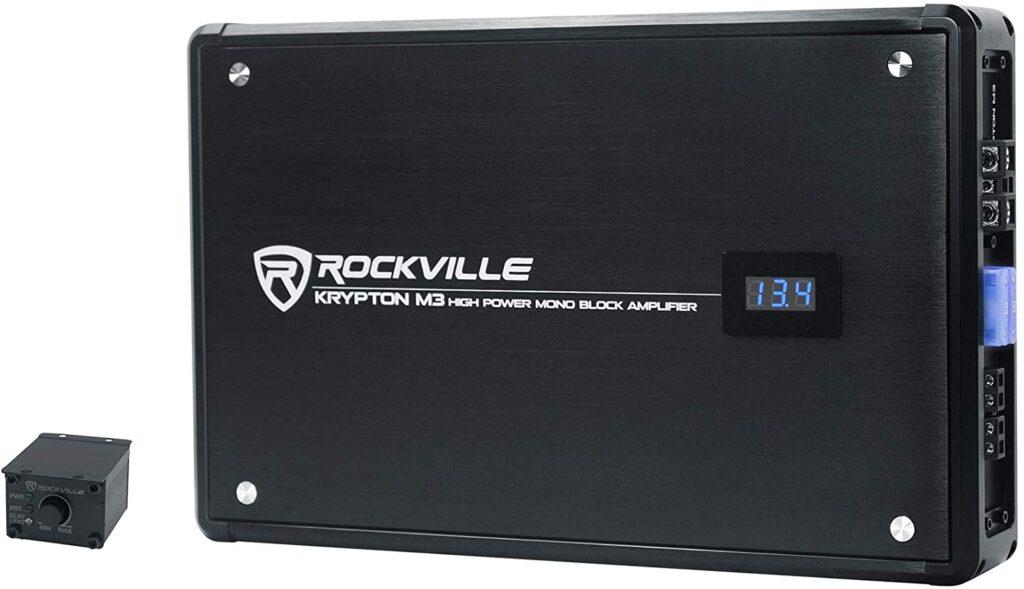 Rockville Krypton-M3amplifier for door speakers
