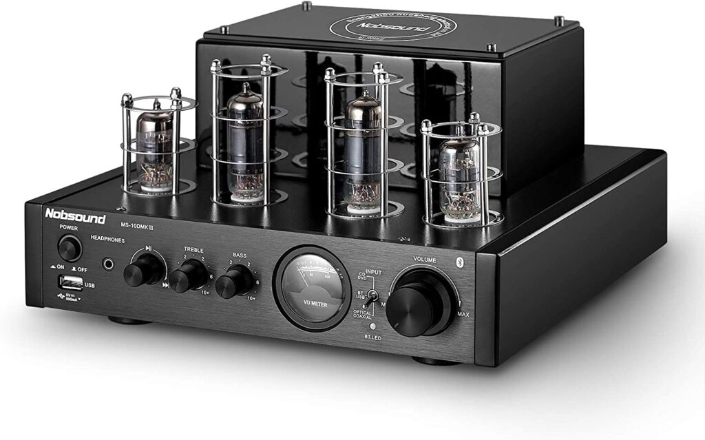 Nobsound MS-10D Tube Power Stereo Subwoofer Amp
