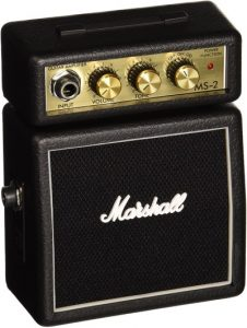 Marshall MS2- Best Affordable Micro Guitar Amplifier